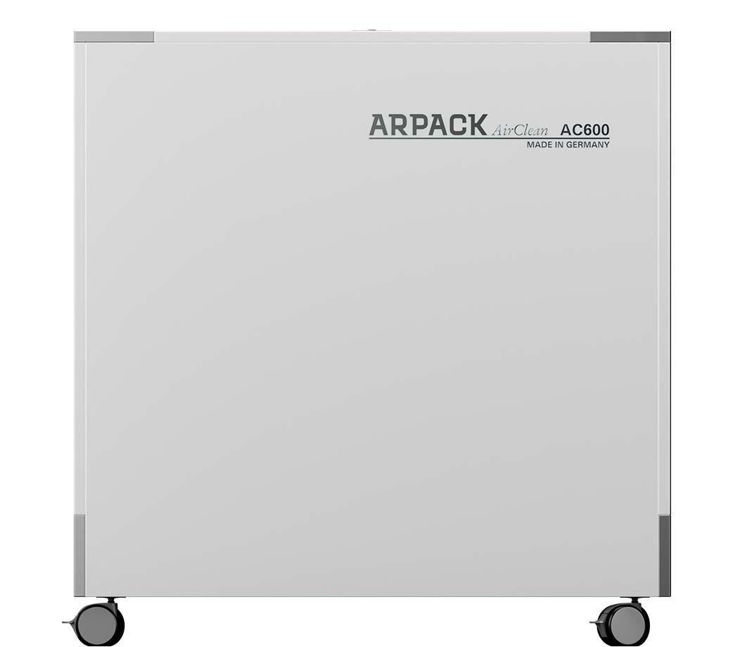 Produktbild Arpack Airclean AC600 Luftreinigungsanlagen mit UV-A LED Fotokatalyse - System