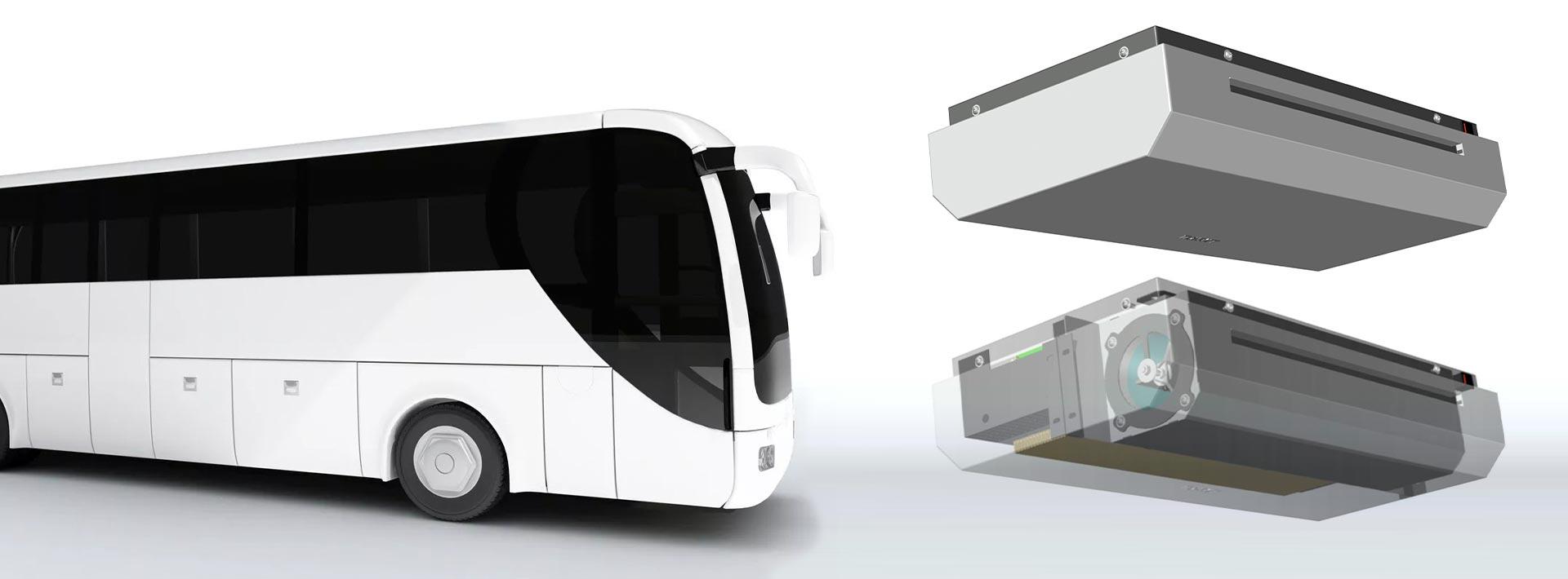 Luftreinigungsanlage für Busse